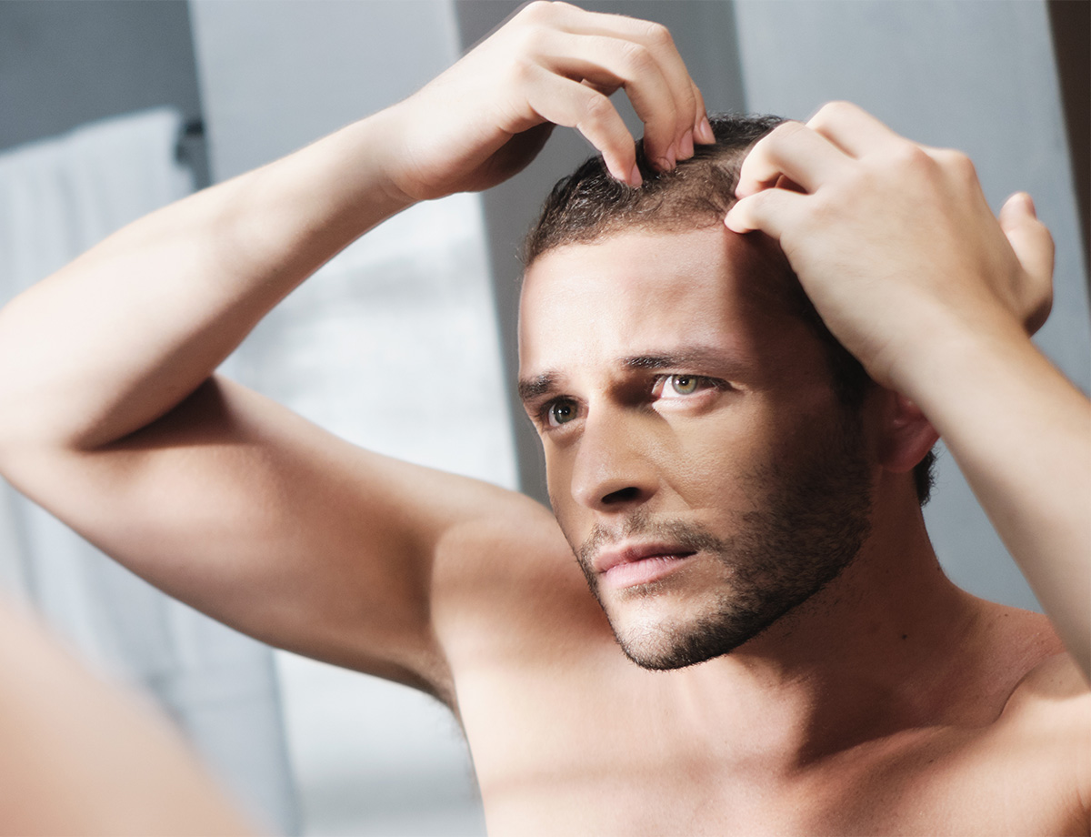 Lazer Lounge Hair Restoration Male Model